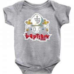 baptism records Baby Bodysuit   Artistshot