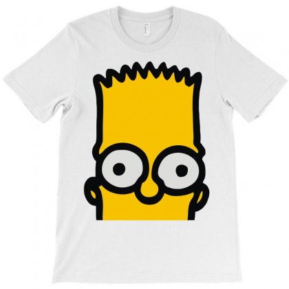 Bart Simpson T-shirt Designed By Mdk Art