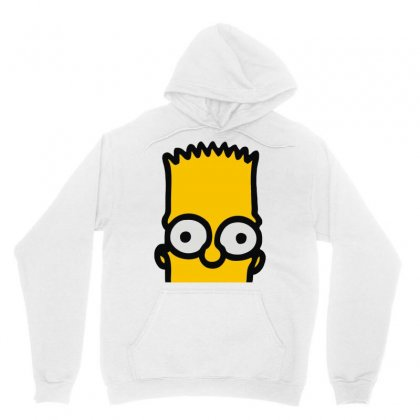 Bart Simpson Unisex Hoodie Designed By Mdk Art