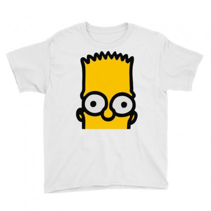 Bart Simpson Youth Tee Designed By Mdk Art