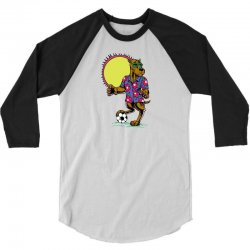 Football Dog 3/4 Sleeve Shirt | Artistshot