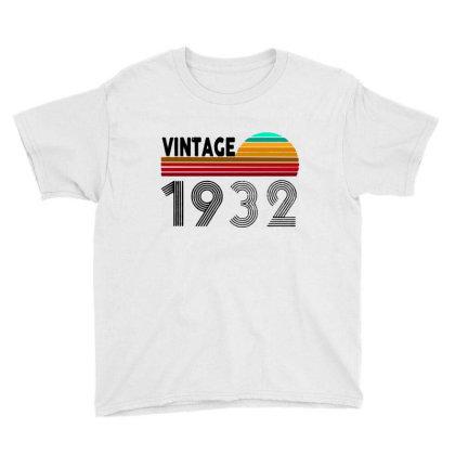 1932 Vintage Funny 88th Birthday Youth Tee Designed By Batikmadrim Art
