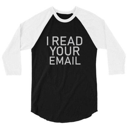 Administrator It Nerd Geek 3/4 Sleeve Shirt Designed By O0p_