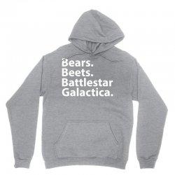 Bears Beets Battlestar Galactica Unisex Hoodie   Artistshot