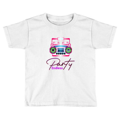 Party Endless Toddler T-shirt Designed By Chiks