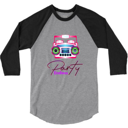 Party Endless 3/4 Sleeve Shirt Designed By Chiks