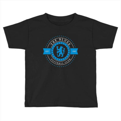 The Blues Football Club Stars Gear Toddler T-shirt Designed By Emanas