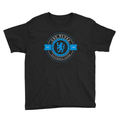 The Blues Football Club Stars Gear Youth Tee Designed By Emanas