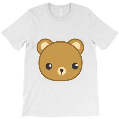 Cute Bear T-shirt Designed By Danz Blackbirdz