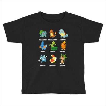 Characters Toddler T-shirt Designed By Rardesign