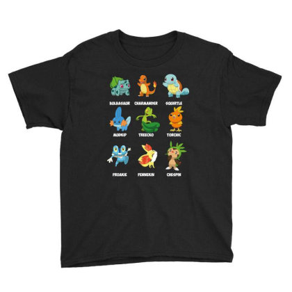 Characters Youth Tee Designed By Rardesign