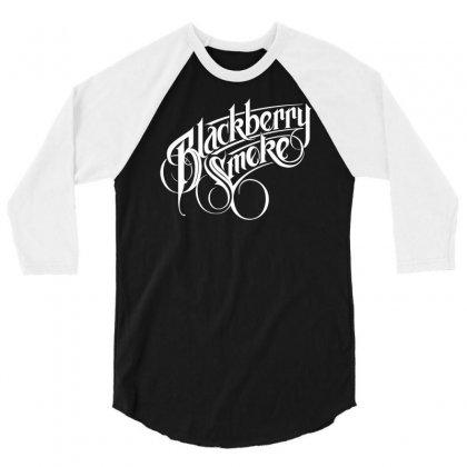 Blackberry Smoke Tour 3/4 Sleeve Shirt Designed By Mdk Art