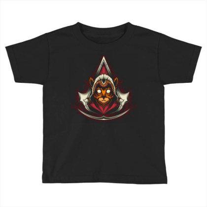 Assassin Creed Kitten Toddler T-shirt Designed By Maadart
