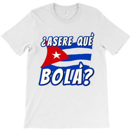 Asere Que Bola T-shirt Designed By Batikmadrim Art