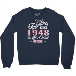 sassy fabulous since 1948 birthday gift Crewneck Sweatshirt | Artistshot