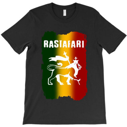 Rastafari Logo T-shirt Designed By Batikmadrim Art