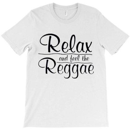 Relax And Feel The Reggae T-shirt Designed By Batikmadrim Art