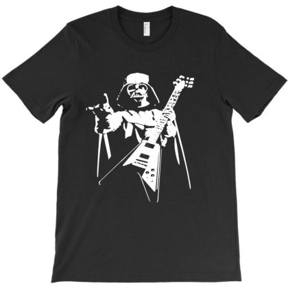 Rocks Guitar Star T-shirt Designed By Batikmadrim Art