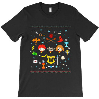 Ugly Christmas T-shirt Designed By Batikmadrim Art
