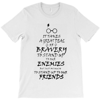 Bravery To Stand Up To Our Enemis T-shirt Designed By Batikmadrim Art