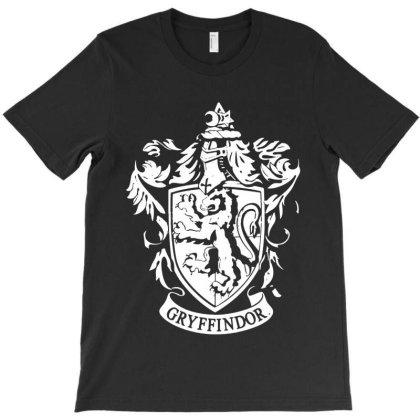 Gryffindor Coat Of Arms T-shirt Designed By Batikmadrim Art
