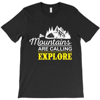 Explore T-shirt Designed By Ismi