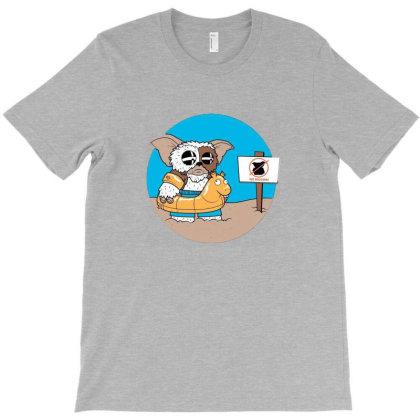Mogwai Beach T-shirt Designed By Mayes