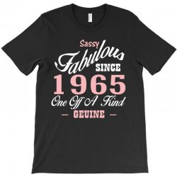 sassy fabulous since 1965 birthday gift T-Shirt | Artistshot