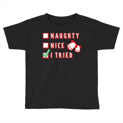 Checklist Toddler T-shirt Designed By Chiks