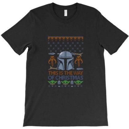 Mando Christmas T-shirt Designed By Bams