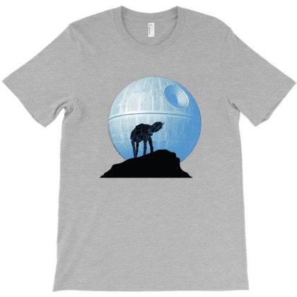 Howl At At The Moon T-shirt Designed By Micondes