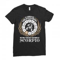 Scorpio Women Ladies Fitted T-Shirt   Artistshot