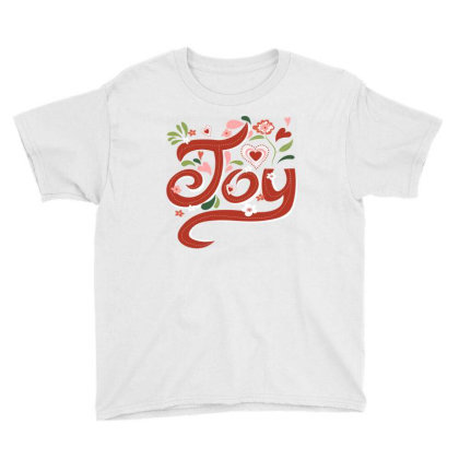 Joy Youth Tee Designed By Sweetcoolvibes