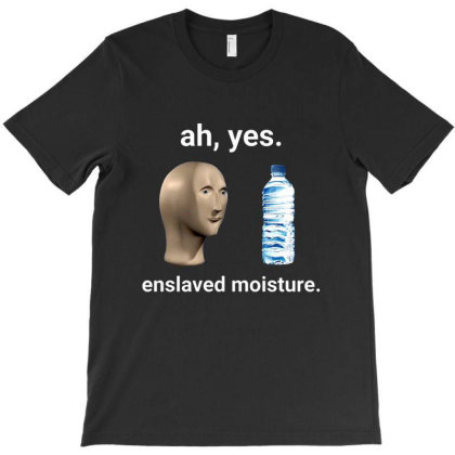 Ah Yes Enslaved Moisture Dank Meme T-shirt Designed By Dontria