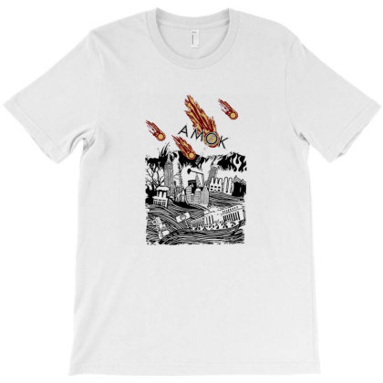 Atoms For Peace Inspired Artwork Amok Thom Yorke Radiohead Band T-shirt Designed By Dontria