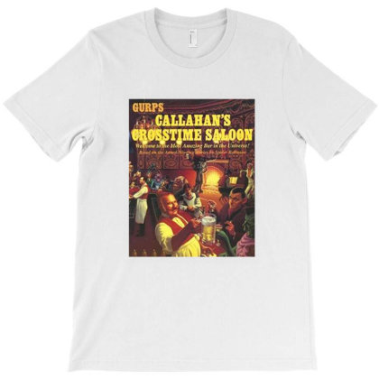 Callahans Crosstime Saloon T-shirt Designed By Agus Loli