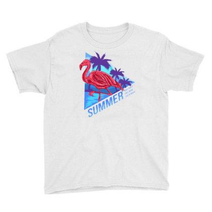 Flamingo Summer Youth Tee