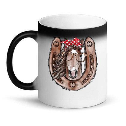 Horseshoe Horse Magic Mug Designed By Badaudesign