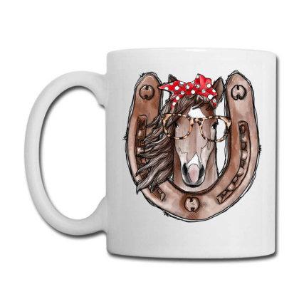 Horseshoe Horse Coffee Mug Designed By Badaudesign