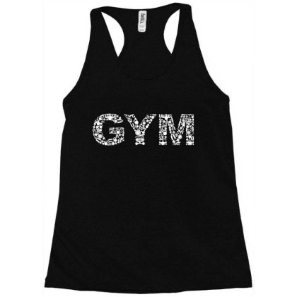 Addicted To The Gym Racerback Tank Designed By Qudkin