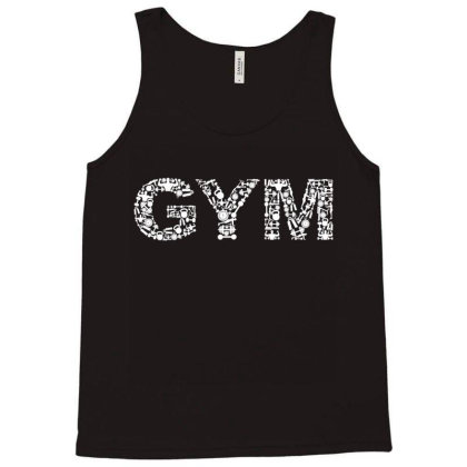 Addicted To The Gym Tank Top Designed By Qudkin