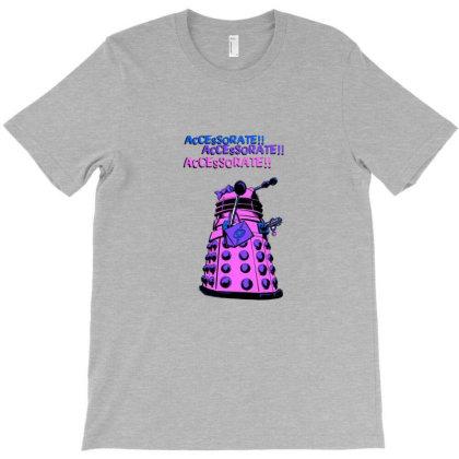 Oh Pretty Dalek T-shirt Designed By Grues