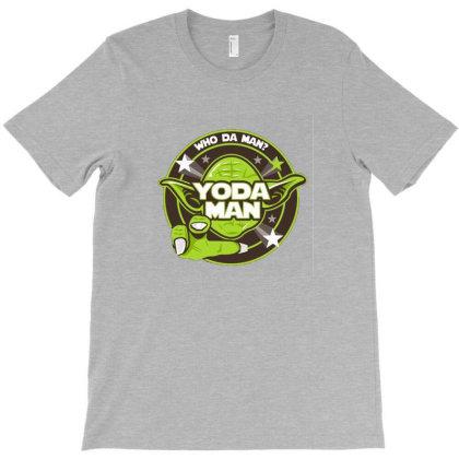 Yoda Man T-shirt Designed By Grues