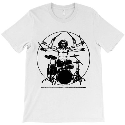Cool Drummer Graphic T-shirt Designed By Melia Art