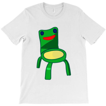 Funny Froggy Chair T-shirt Designed By Melia Art