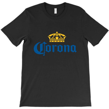 Classic Corona Logo With Crown T-shirt Designed By Maungro