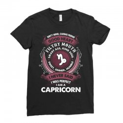 I Never Said I Was Perfect I Am A Capricorn Ladies Fitted T-Shirt | Artistshot
