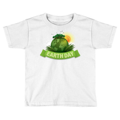 Clean Up The World Earth Day Toddler T-shirt Designed By Şen