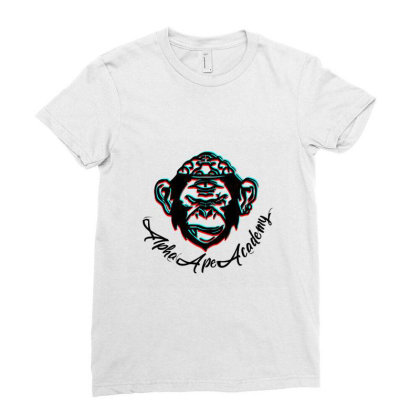 Alpha Academy Classic T Shirt Ladies Fitted T-shirt Designed By Bluebubble
