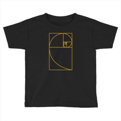 Golden Ratio Toddler T-shirt Designed By Fahmifutri
